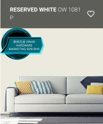 OW1081P RESERVED WHITE