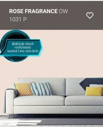 OW1031P ROSE FRAGRANCE