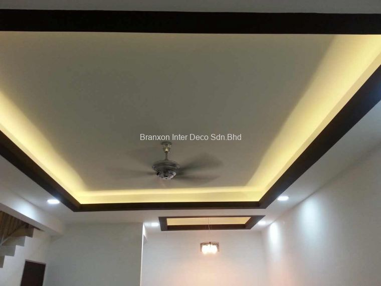 Cornice Design For Living Hall