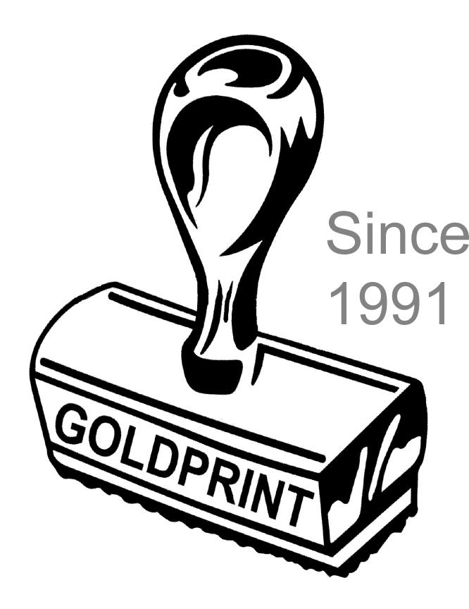 Goldprint Logo