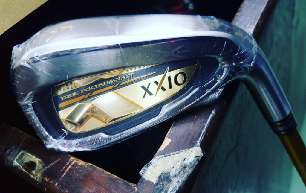 XXIO X Gold Limited Edition Irons from Japan!