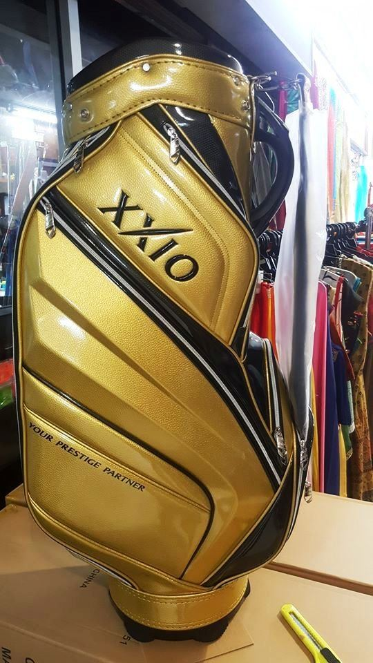 XXIO X Gold Limited Edition Caddie Bag from JAPAN!