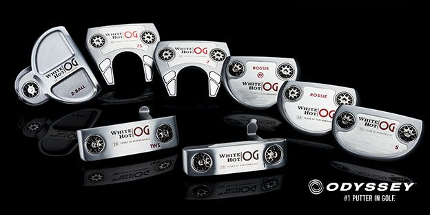 2021 SERIES ODYSSEY PUTTERS