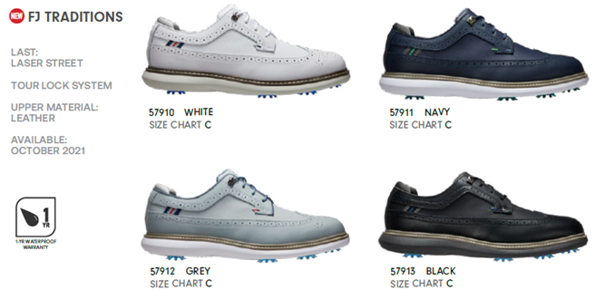 FJ GOLF SHOES AT THE BEST 2021 SERIES!!