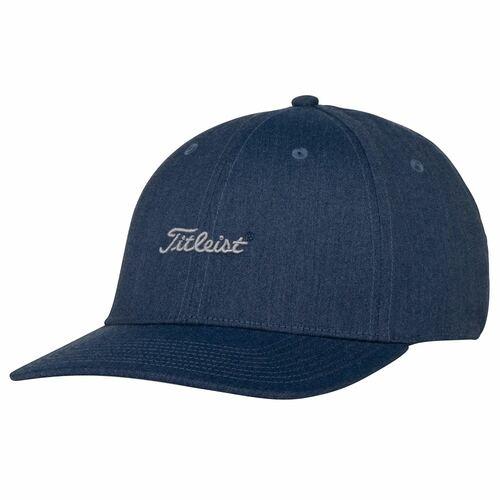 Titleist Nantucket Heather Semi Curve Golf Cap BLUE