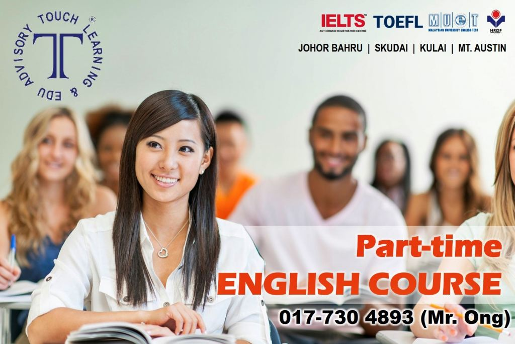 English Learning Course in JB