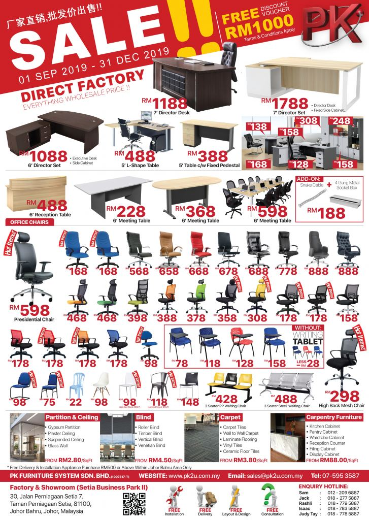 Office Furniture Warehouse Sale