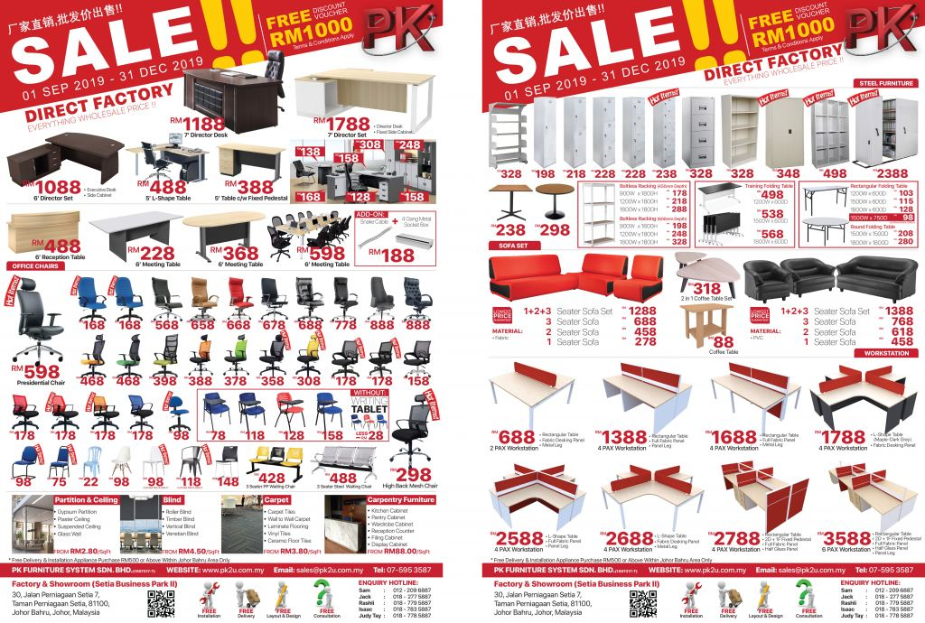 Office Furniture Warehouse Sale