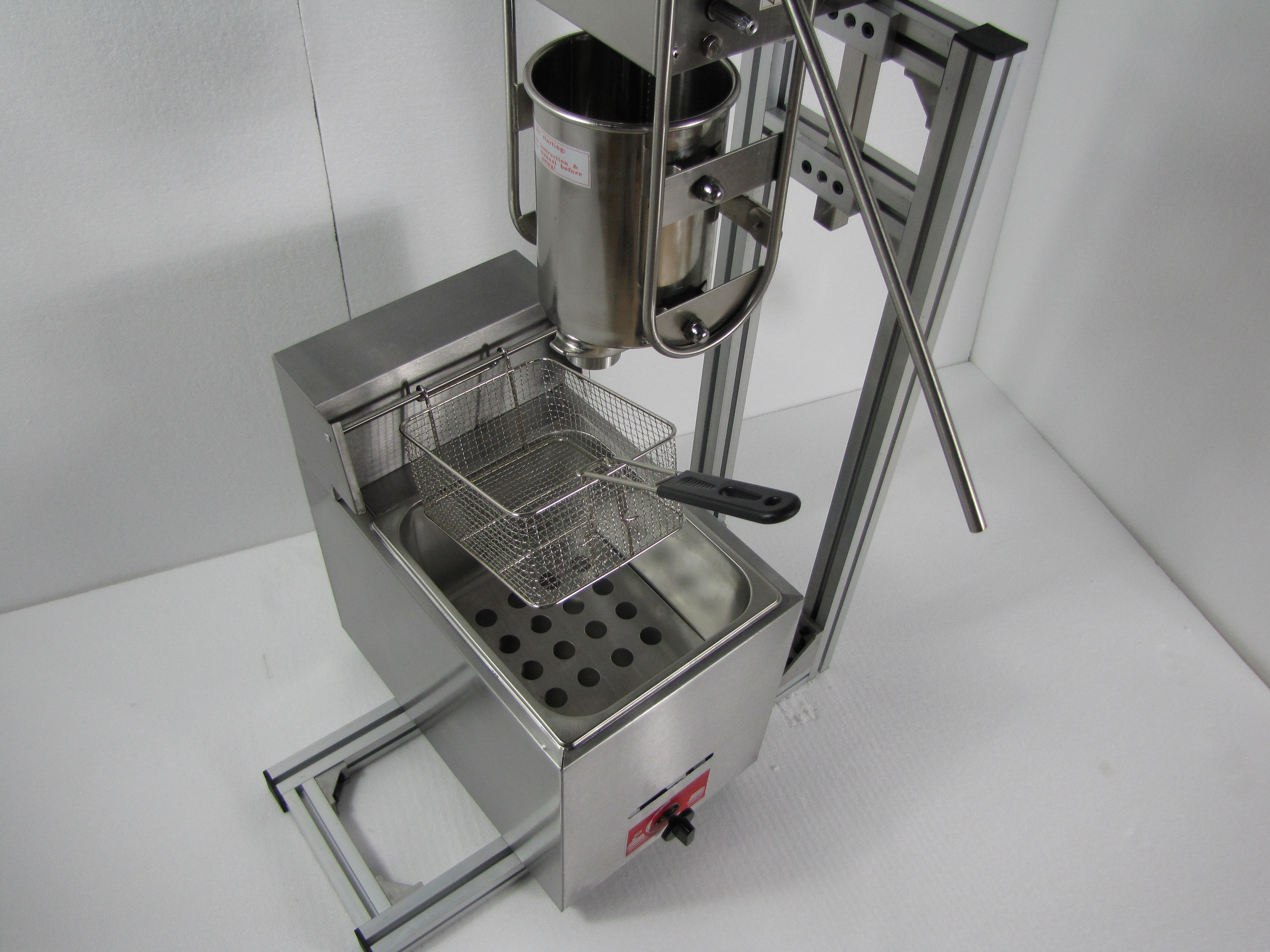 buy churro maker machine with gas deep fryer product online kuala lumpur kl malaysia on newstore. Black Bedroom Furniture Sets. Home Design Ideas