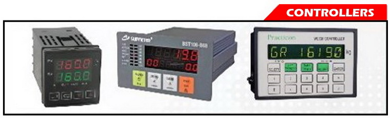 CONTROL MODULES (Weight Meters, Thermometers, Product Counters, and etc.)
