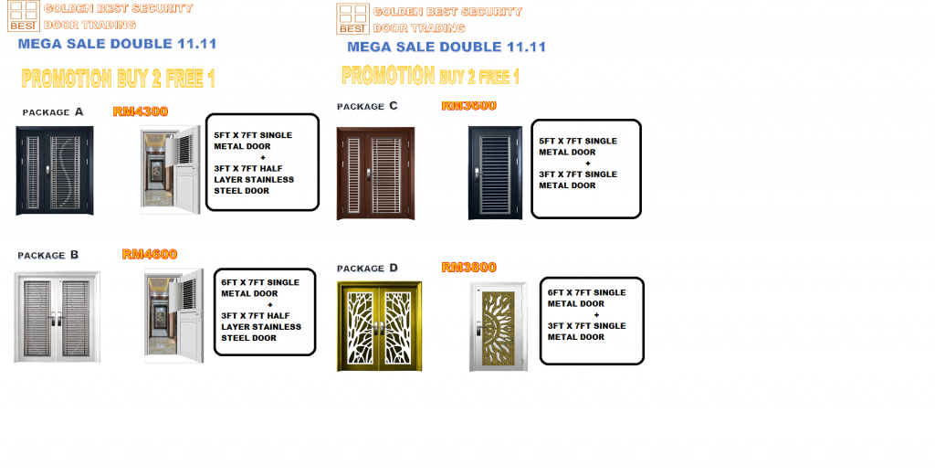 Mega Sales Double 11.11 Promotion