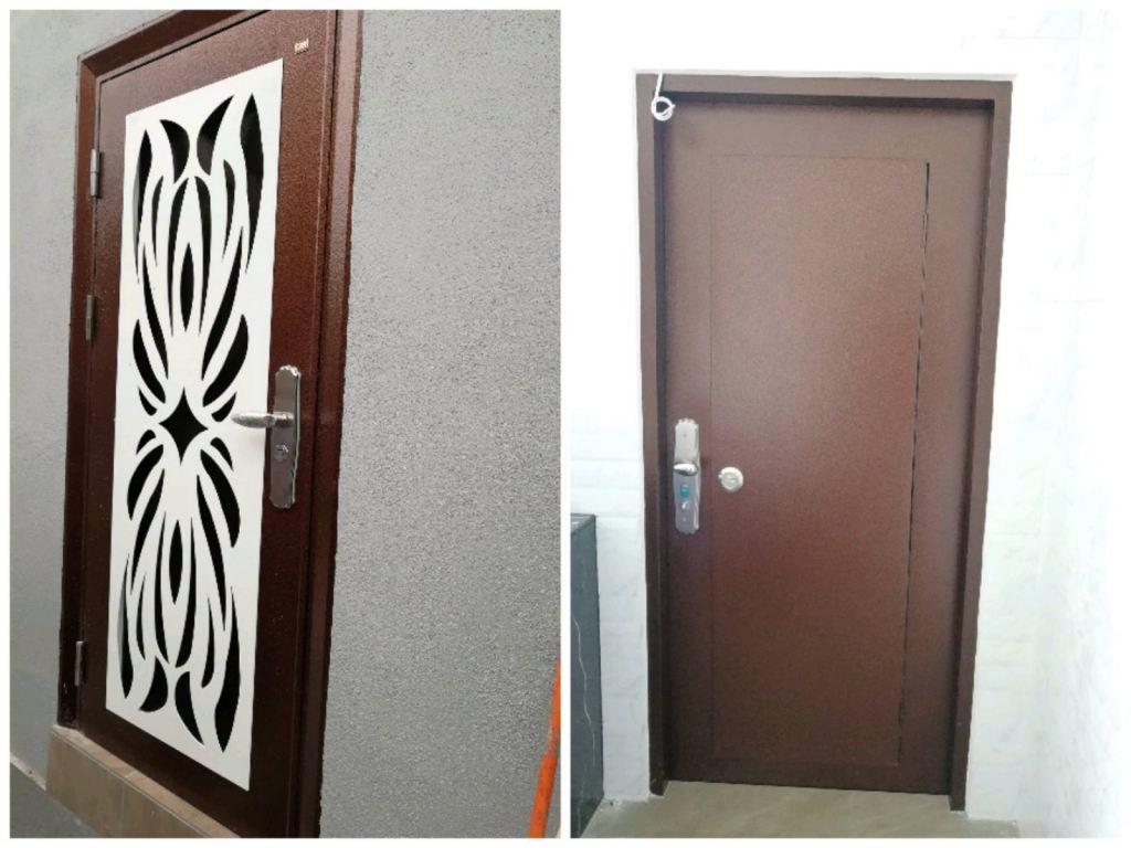 Project Security Door @Jalan Saga 9,Tmn Saga