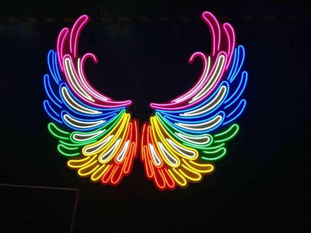 Led Neon Customise Event Showroom