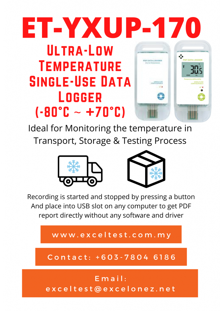ET-YXUP-170 (Ultra-Low Single-Use Data Logger)