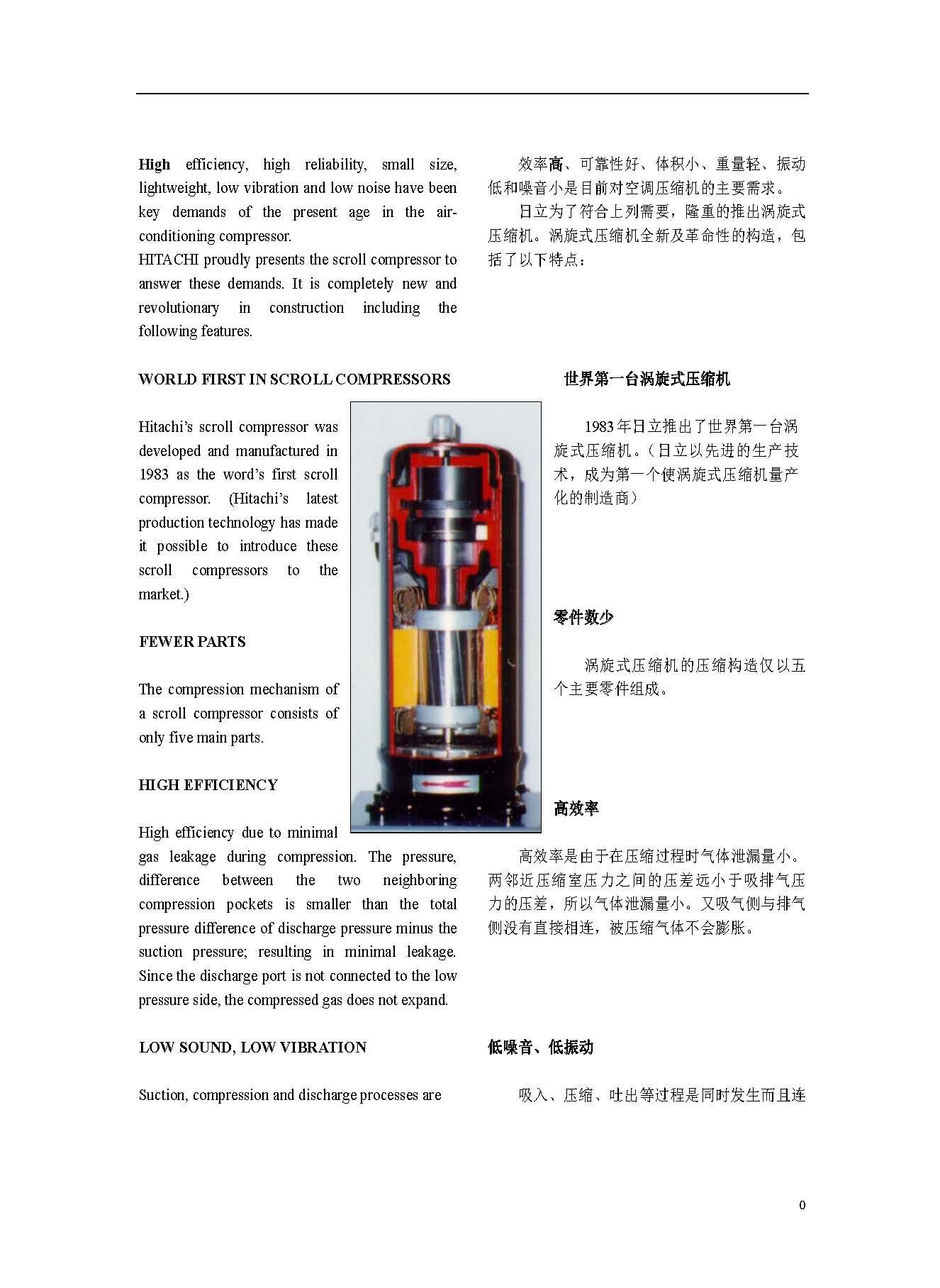 Scroll Compressors Scroll Compressors Hitachi Supplier, Suppliers