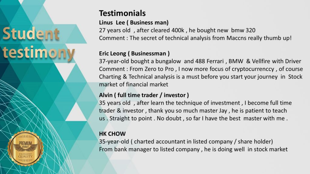 Testimonials ( The 1st Stock Trading Malaysia��