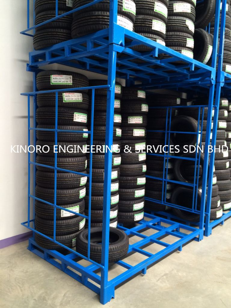 Tyre Rack / Pallet Tainer / Stackerable Rack