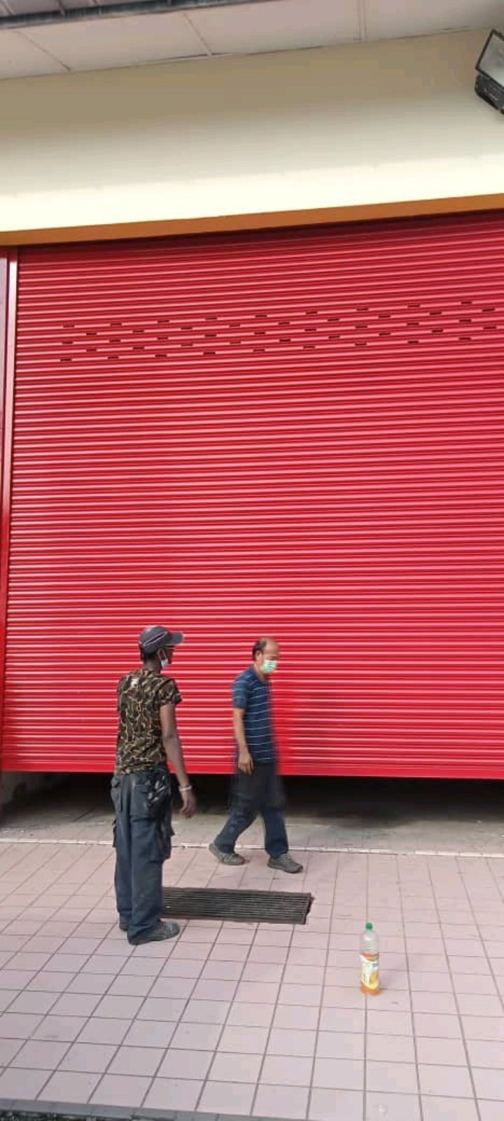 Supply & Installation Roller shutter Door