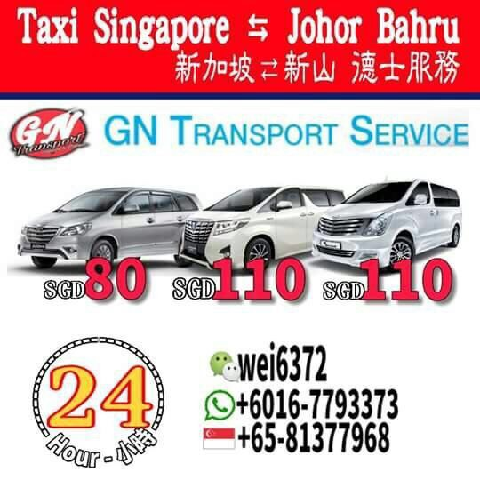 sg to jb taxi