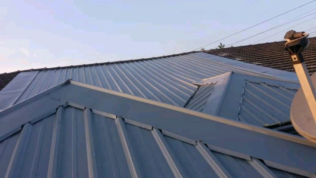 PU metal roofing replacement