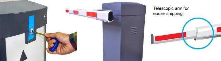 MAG Barrier Gate System