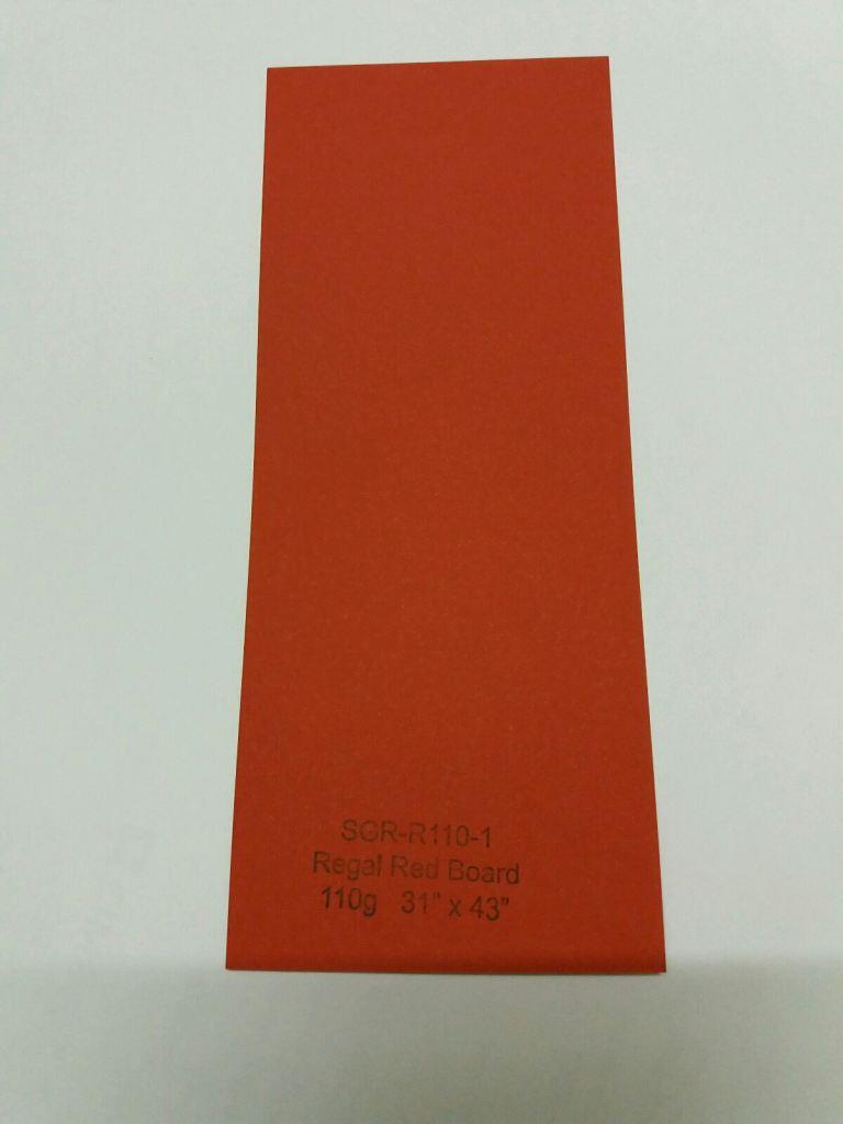 Regal Red Board 110g