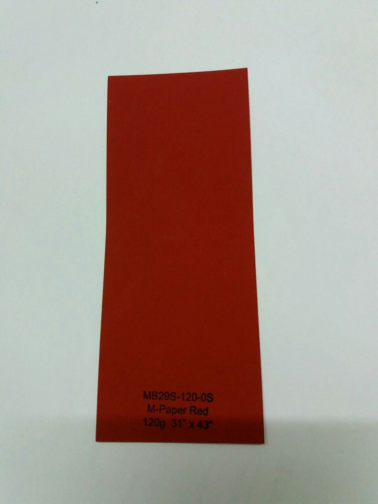 M Paper Red 130g