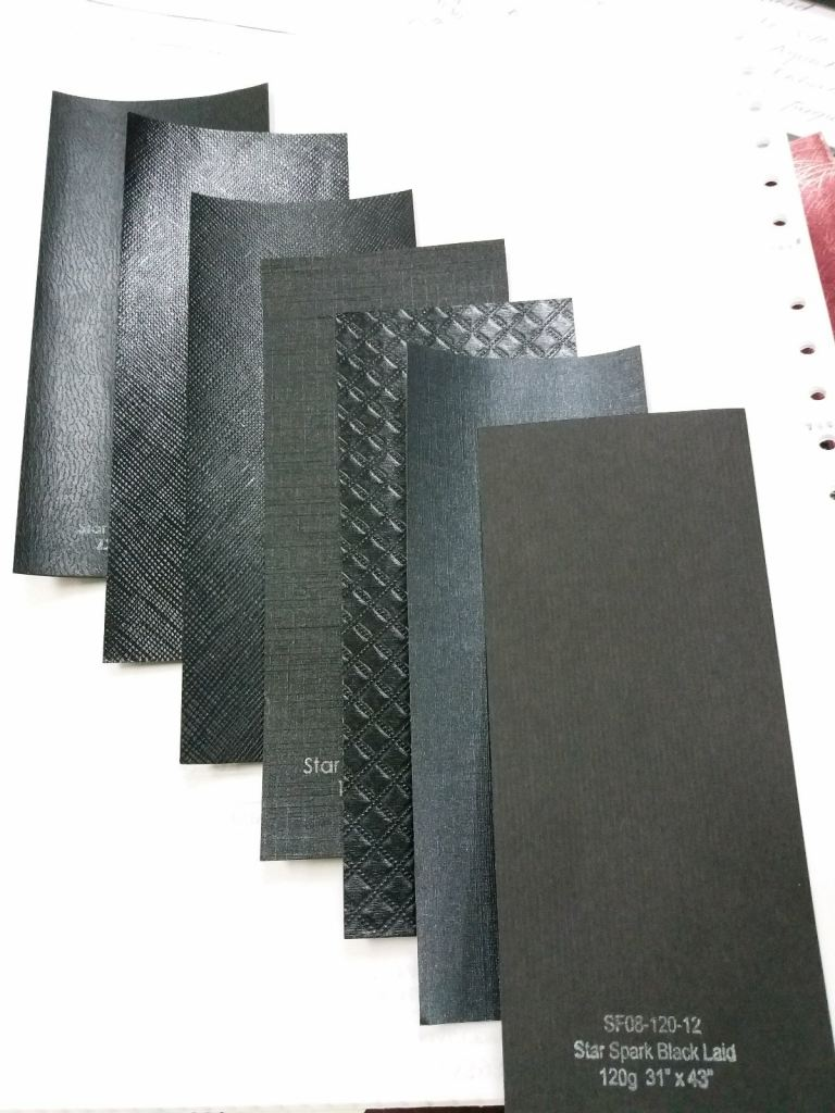 Black Paper with texture 120g