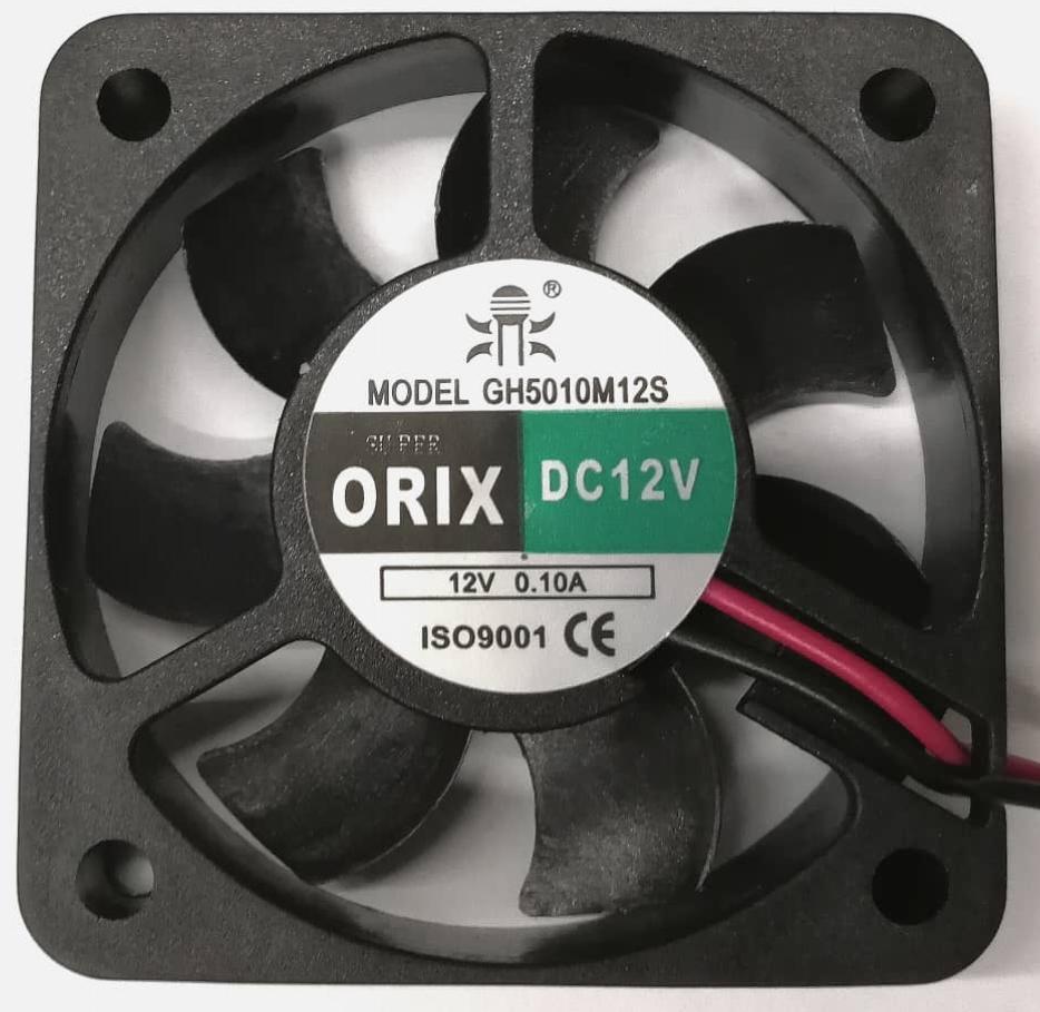 SUPER ORIX - DC Axial Fan, GH5010M12S, DC12V 0.10A