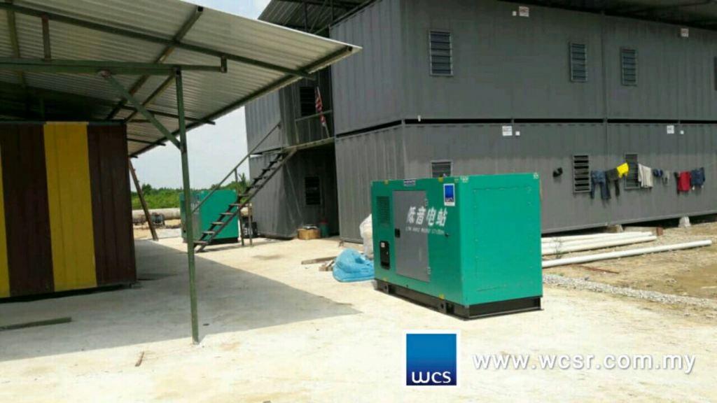 Wei Chai 60KVA x2 Diesel Generator Set