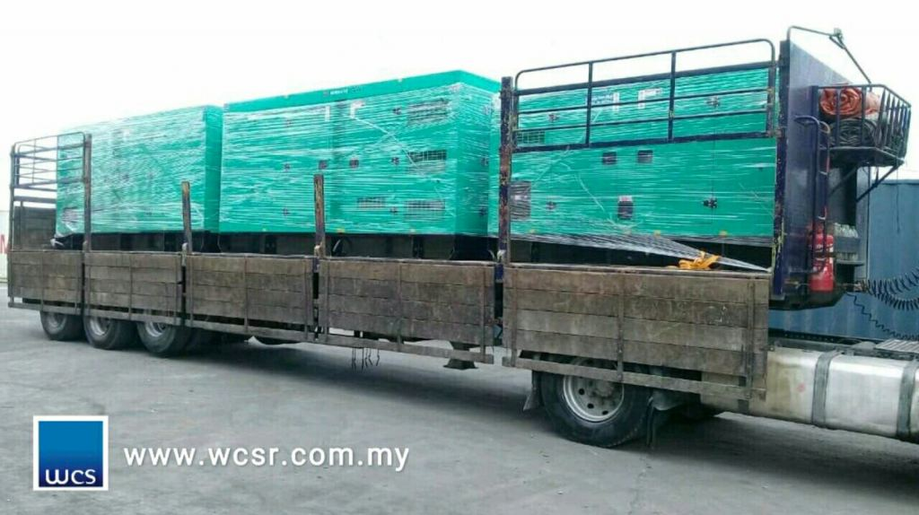 CUMMINS GENSET 400KVA x2, 100KVA x1 arrival our warehouse