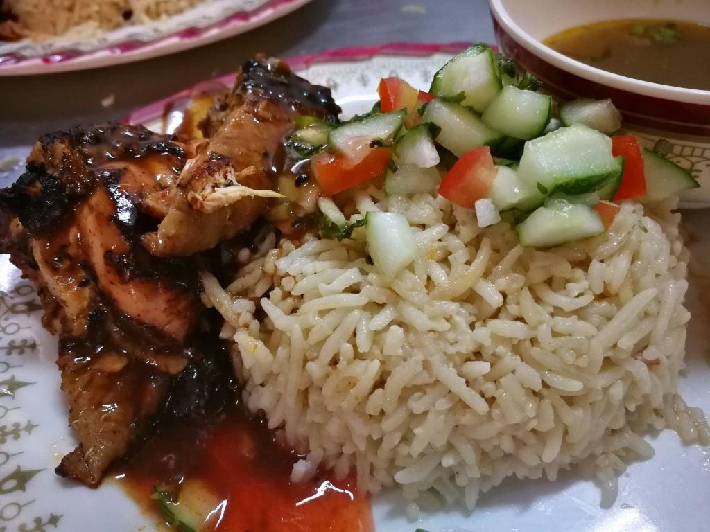 Chicken Arabic Rice