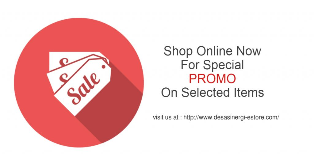 Visit our online store now for special promo !