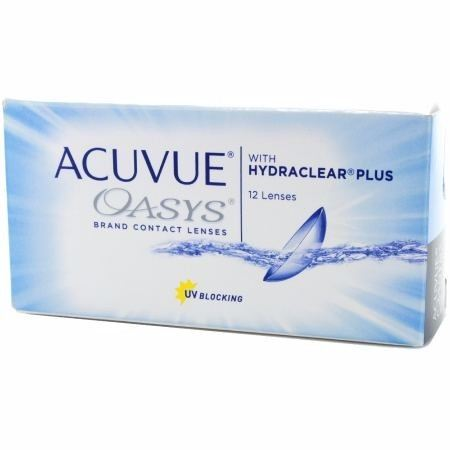 ACUVUE OASYS 2-WEEK WITH HYDRACLEAR PLUS