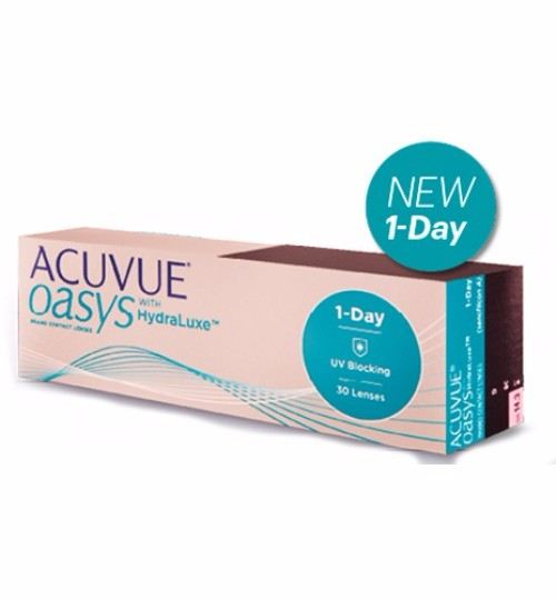 ACUVUE OASYS 1-DAY WITH HYDRALUXE TECHNOLOGY