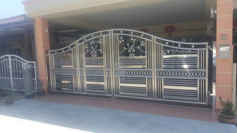 Fully Stainless Steel�� Folding Gate