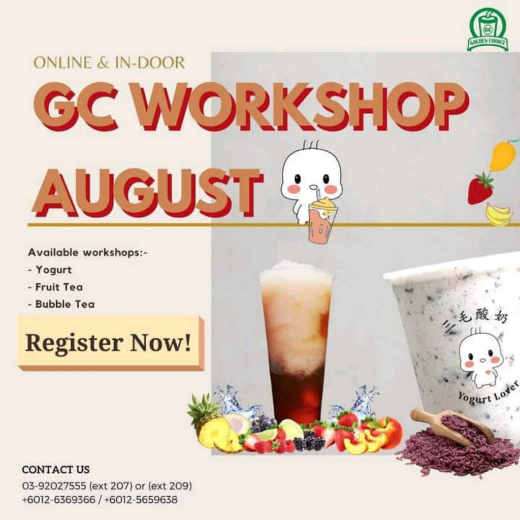 Yogurt & Fruit Tea workshop