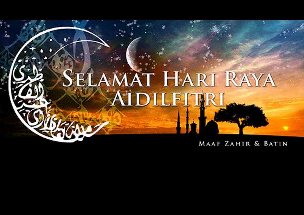 Selamat Hari Raya Aidilfitri Maaf Zahir & Batin.