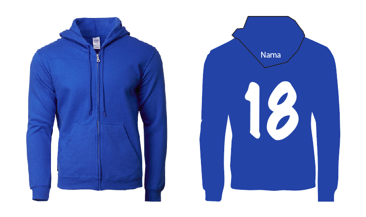 jacket (royal blue colour)