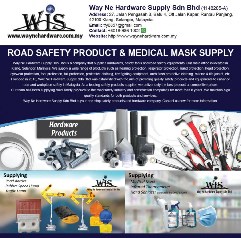 Road Safety Product & Medical Mask Supply