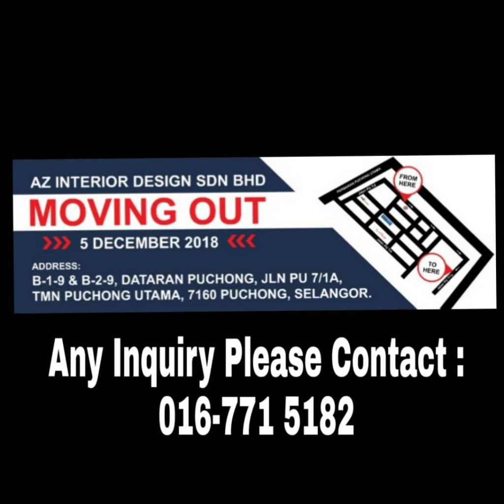 We're Moving Out !!!