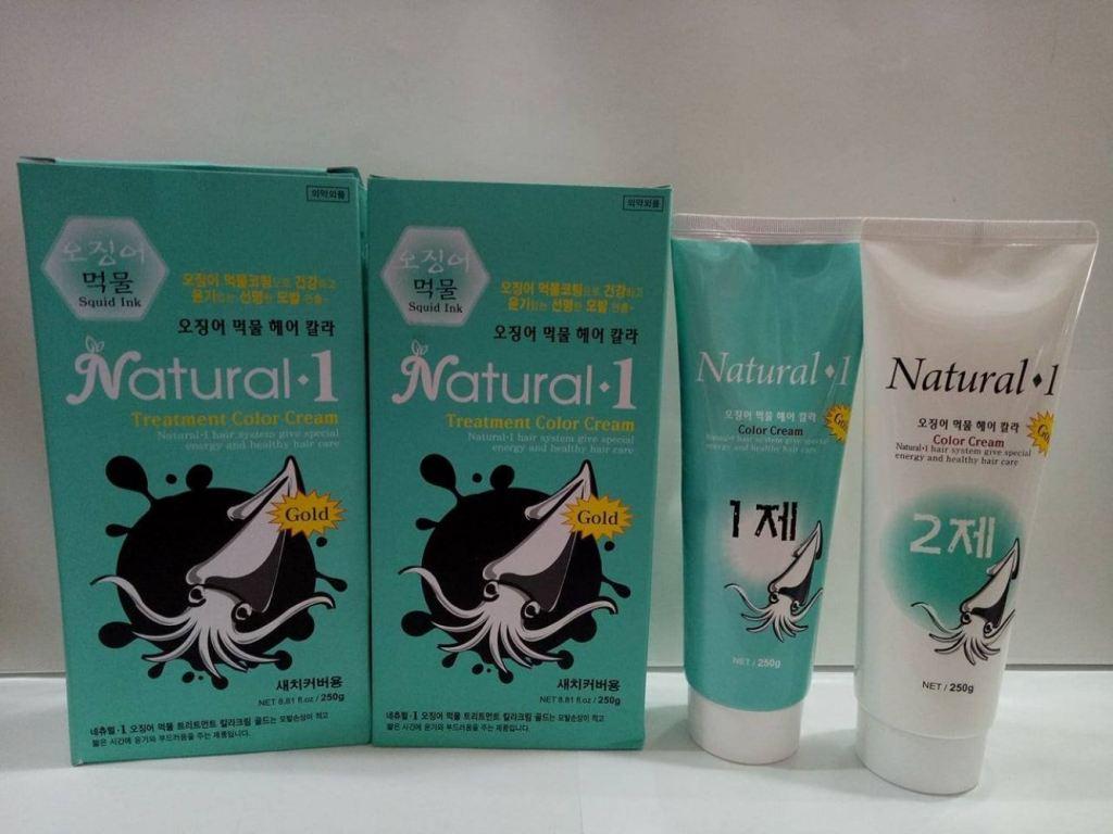 Natural 1 Treatment Color Cream 250g