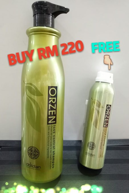 Orzen Loss Control Shampoo 1000ML ��FREE��Orzen Scalp Peeling 220ML