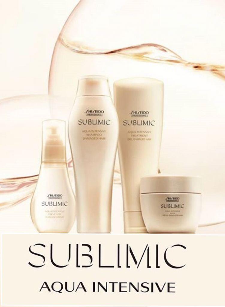 Shiseido Professional Sublimic Aqua Intensive Range