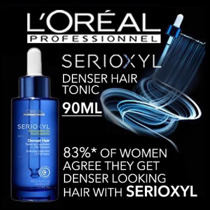 Loreal  Professional Serioxyl Denser Hair Tonic 90ML