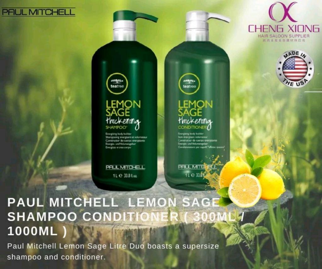 PAUL MITCHELL LEMON SAGE SHAMPOO &CONDITIONER 300ML/1000ML