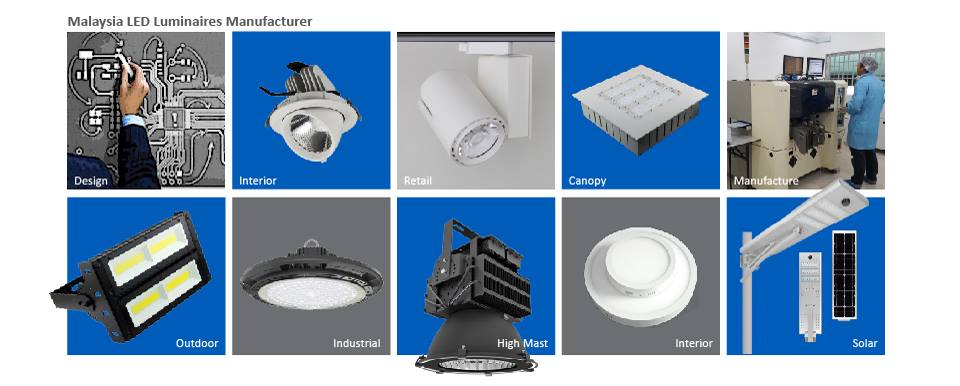 Led lighting manufacture on MALAYSIA