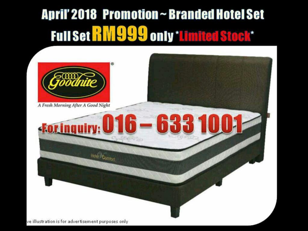 April Promotion~Branded Hotel set