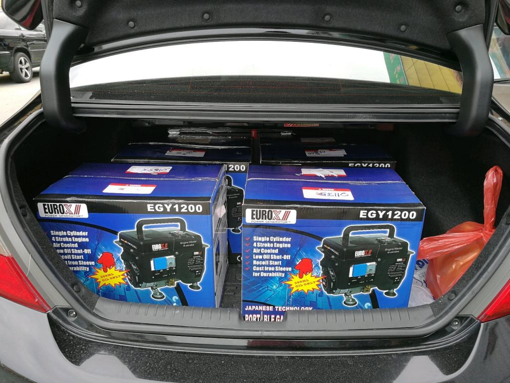 900W 4-Stroke Petrol Generator - Thank You Very Much for your Support !