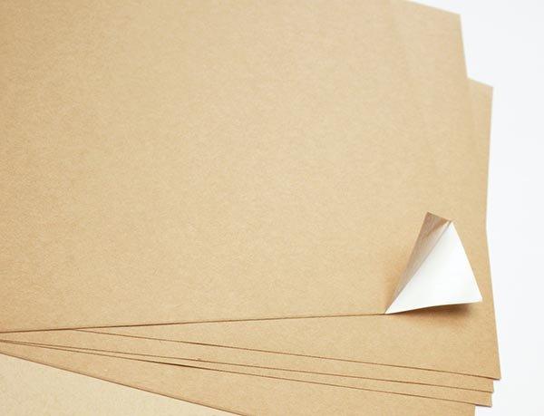 Kraft Paper Sticker